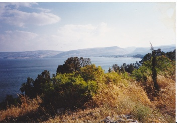 IMG_0004 - view of rthe sea of Galilee freom the Mount of the Beatitudes, 1995