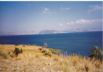 IMG_0005 - view of the sea of Galilee from the Mount of the Beatitudes 1995