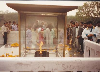 IMG_0012 at Gandhi samadhi in India