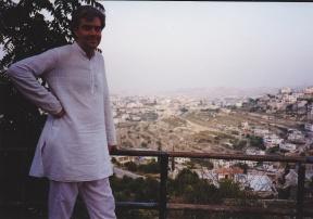 IMG_0017 - Thomas overlooking Bethlehem, Palestine, 1995